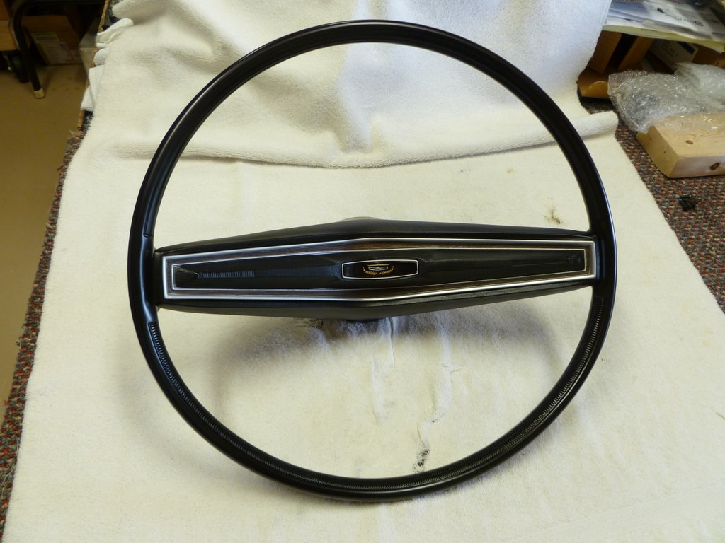 1970-73 Fairlane / Torino Steering Wheel - Mustang Car ...