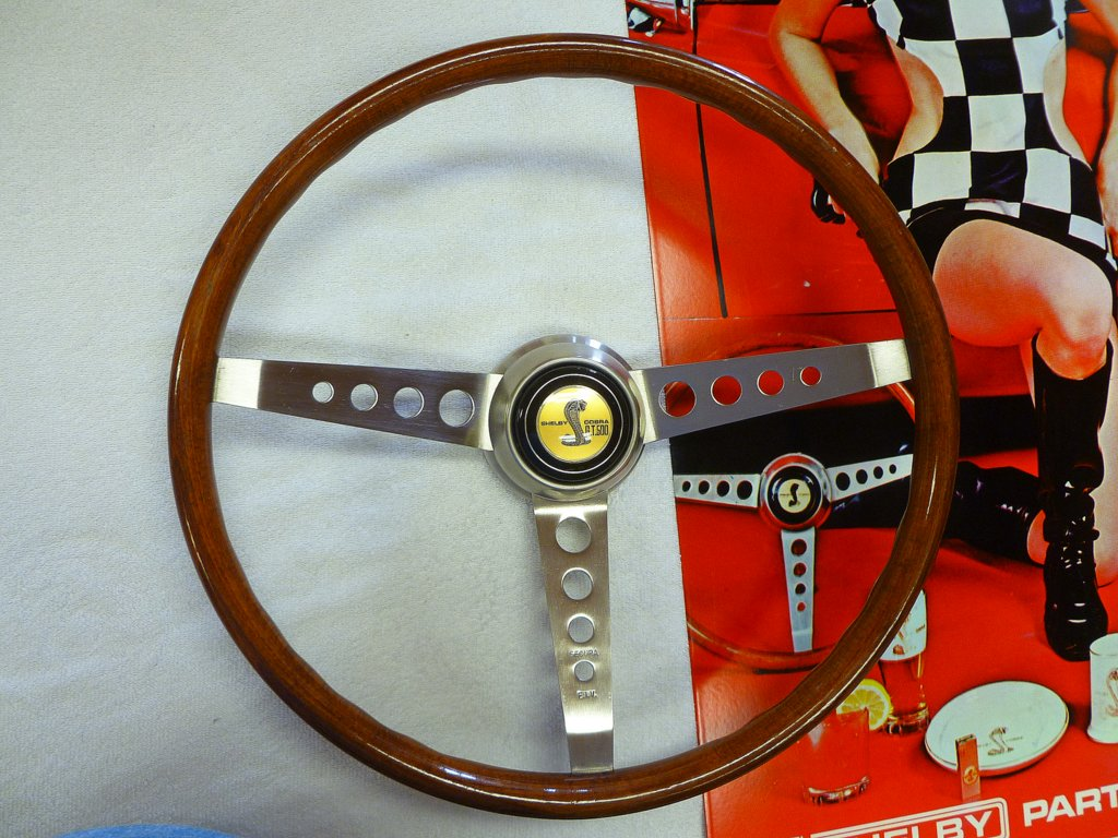 1968 69 Nos Real Wood Mustang And Shelby Steering Wheel